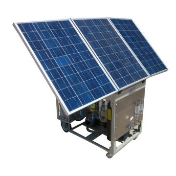 Mobile Solar RO Water Purification Unit-RO300S