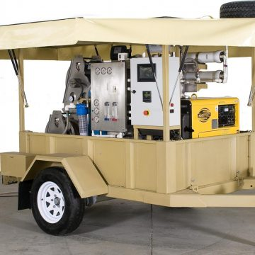 Mobil Ters Ozmos Su Arıtma Sistemi – TEC MWT 500
